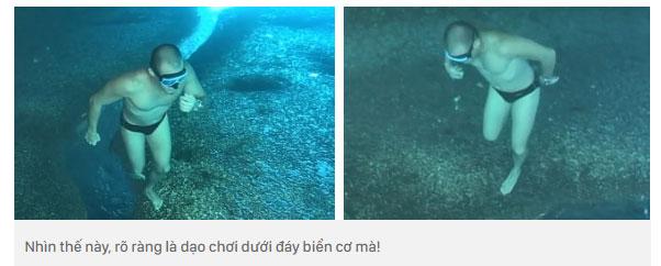 Nhìn thế này, rõ ràng là dạo chơi dưới đáy biển cơ mà