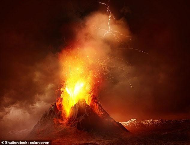 Núi lửa phun đã không khiến nhiệt độ trong giai đoạn này giảm xuống. Mọi chuyện hóa ra ngược lại
