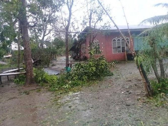 Thiệt hại do siêu bão Yutu gây ra ở tỉnh Isabela