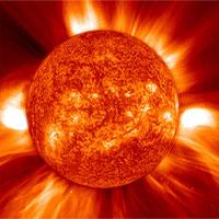 Hình ảnh mặt trời rõ chưa từng thấy