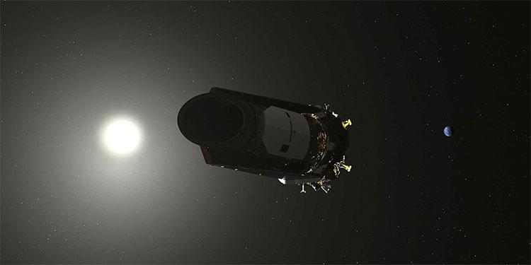 Kepler ngừng hoạt động ở cách Trái Đất 151 triệu km.