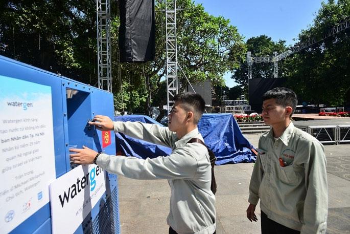 Được biết, công ty của Isarel sẽ đặt nhà máy sản xuất máy tạo nước từ không khí tại Việt Nam trong thời gian tới.