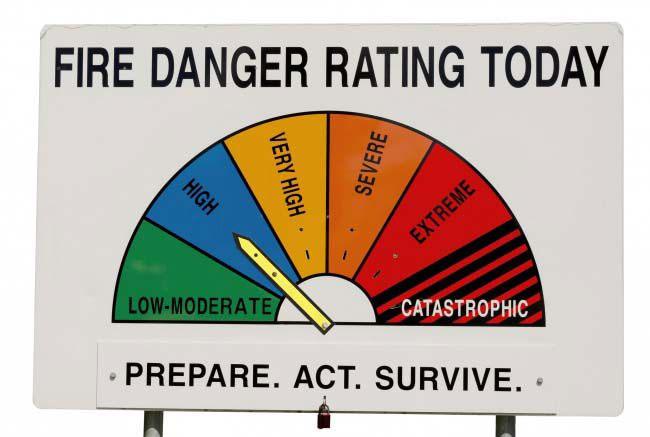 Ở Úc rất dễ xảy ra hỏa hoạn, bạn nên cẩn thận khi đi du lịch tại Úc.