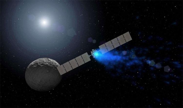 Tàu vũ trụ Dawn dừng hoạt động sau 11 năm khám phá không gian.