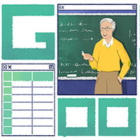5/11: Google kỉ niệm ngày sinh của Michael Dertouzos