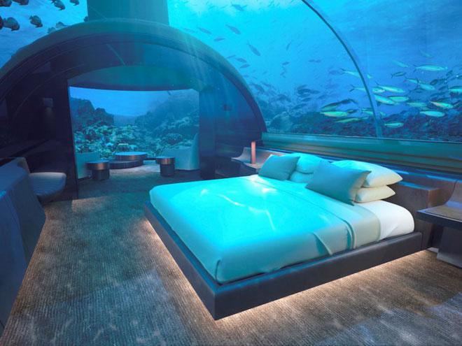 Mỗi phòng sẽ có giường cỡ king-size như thế này, thật tuyệt phải không nào?