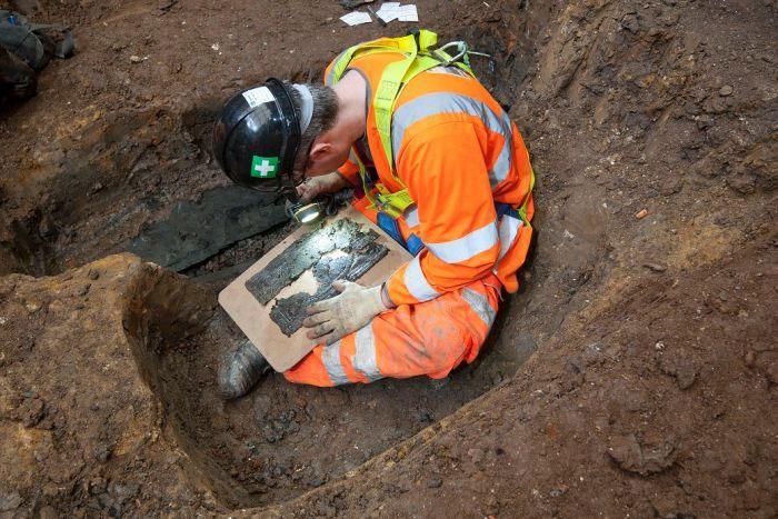 Công trường xây dựng đã trở thành công trường khảo cổ lớn nhất nước Anh