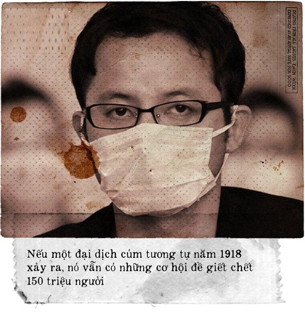 Đại dịch cúm như năm 1918 vẫn có thể xảy ra trong tương lai