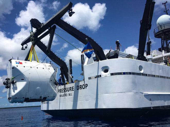 Tàu ngầm của Triton sẽ đi đến điểm sâu nhất của mỗi đại dương