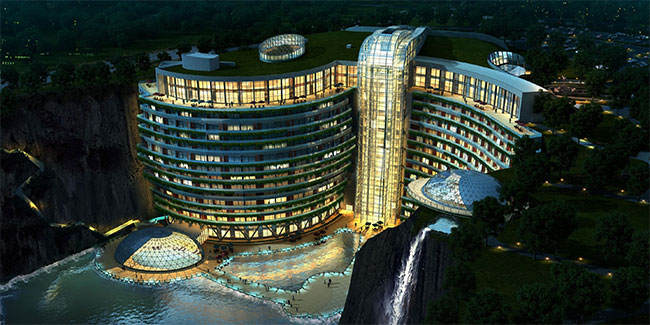 Khách sạn InterContinental Shanghai Wonderland.