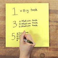 """Bí kíp 1-3-5 ai cũng nên học để lên được một """"to-do list"""" thật hiệu quả"""