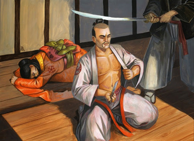 Samurai mổ bụng tự sát