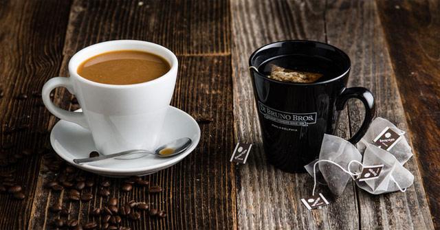 Cà phê và trà là hai thức uống phổ biến
