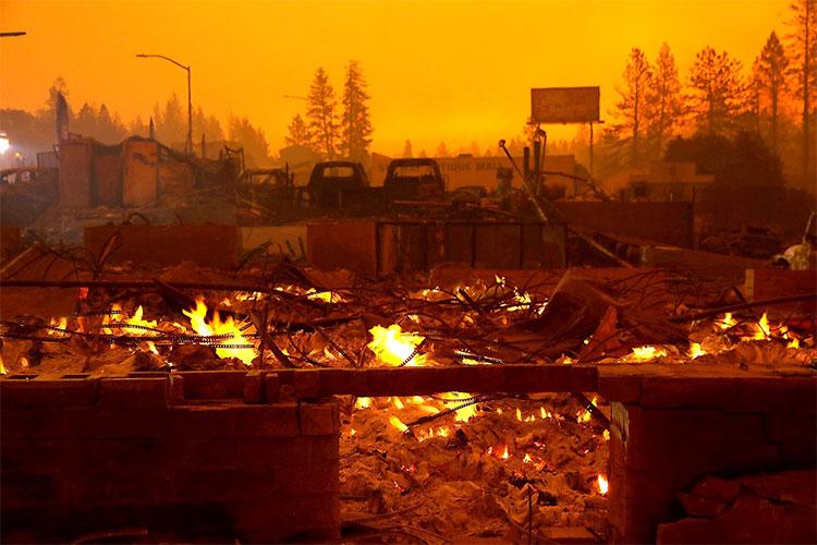 California đang cháy