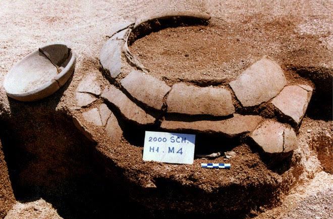 Mộ nồi của cư dân Sa Huỳnh được phát hiện ở Suối Chình, Lý Sơn.