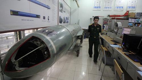 Phòng nghiên cứu tên lửa của Học viện kỹ thuật Quân sự.