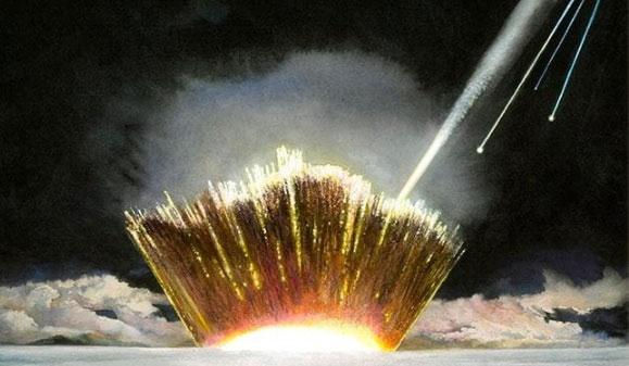 Cú va thạm của thiên thạch cỡ này có thể ngang với sức mạnh của 70 vạn quả bom hạt nhân.