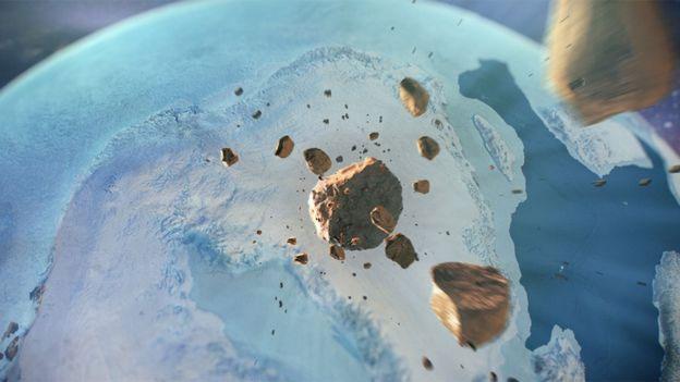 Các nhà khoa học nghi một thiên thạch bằng sắt khổng lồ đã lao xuống Greenland khoảng 12.000 năm trước.