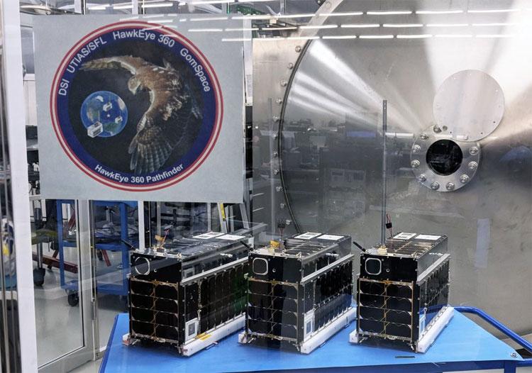 3 vệ tinh nhỏ trong cụm vệ tinh Pathfinder sẽ bay cùng Falcon 9