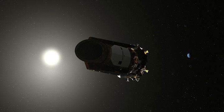 """Kính thiên văn Kepler chính thức """"nghỉ hưu"""" tại nơi cách Trái Đất 151 triệu km."""