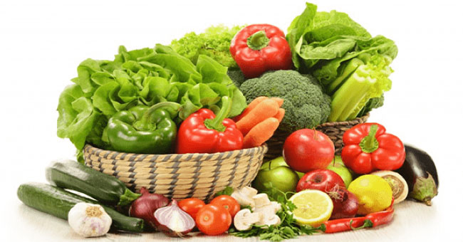 Ăn nhiều rau và trái cây giúp phòng tránh ung thư.