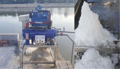 Máy làm đá lắp thử nghiệm tại cảng cá Bạch Long Vĩ
