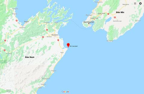 Hai hòn đảo ở New Zealand được cho là đã xích lại gần nhau hơn.