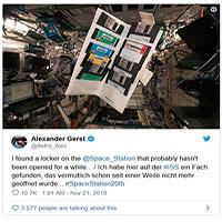 Đĩa mềm của NASA được xuất hiện trên Trạm Vũ trụ Quốc tế ISS