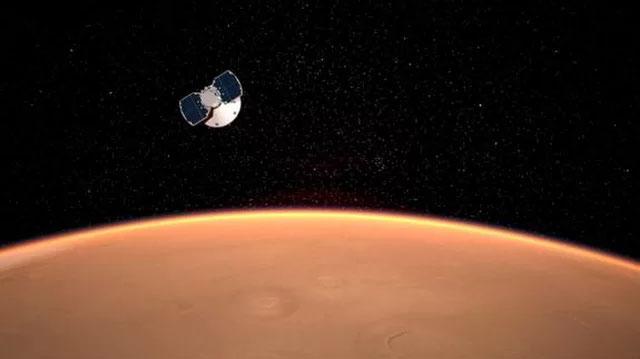 InSight sẽ xâm nhập khí quyển sao Hỏa với vận tốc 19.310km/h.