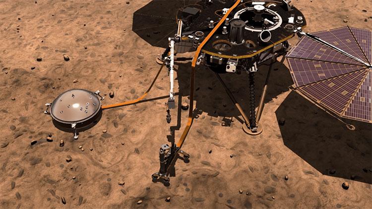 Sứ mệnh của InSight chính là ghi nhận lại những đợt Marsquakes (động đất trên sao Hỏa)