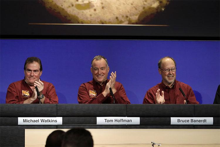 Đây là lần hạ cánh thành công thứ 8 trên sao Hỏa của tàu NASA kể từ năm 1976