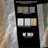 """Nga phát hiện nơi """"yên nghỉ"""" của tàu đổ bộ Mars 3 trên sao Hỏa"""