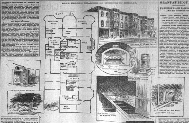 Thiết kế khách sạn của Holmes.