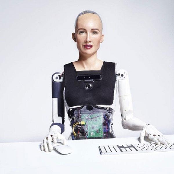 Robot Sophia.