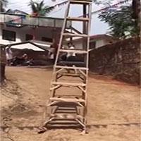"""Kỳ lạ về hiện tượng """"thang dạo phố"""" ở Ấn Độ"""