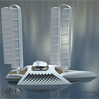 Siêu du thuyền 114 triệu USD chạy bằng sức gió
