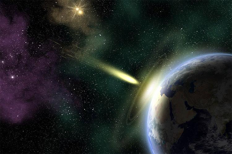 Minh họa về luồng khí vũ trụ