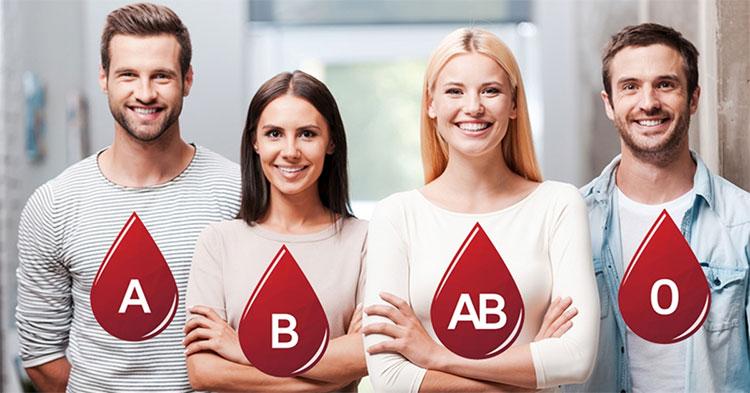 Tất cả chúng ta đều thuộc một trong 4 nhóm máu A, B, AB và O, gọi chung là ABO.