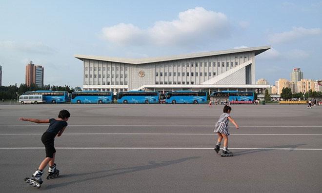 Sân vận động trong nhà ở Bình Nhưỡng