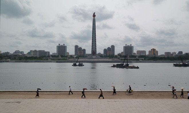 Ngọn tháp Juche Idea