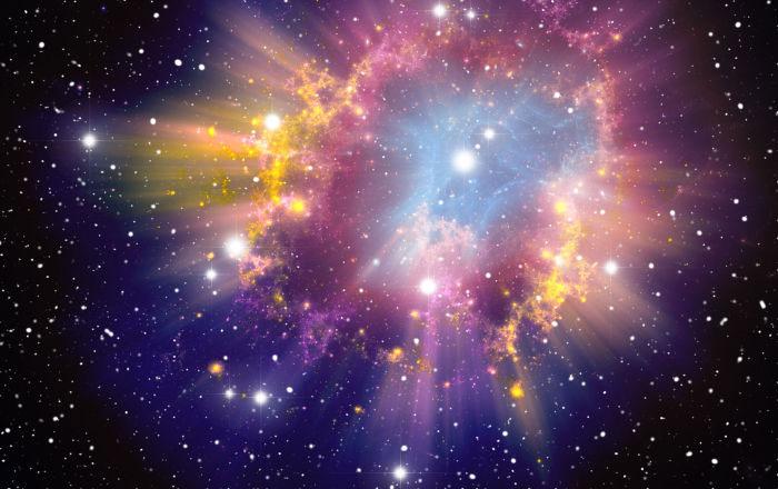 Ở năng lượng trên 300 GeV, tín hiệu từ các nguồn bên ngoài thiên hà của chúng ta bị triệt tiêu mạnh.