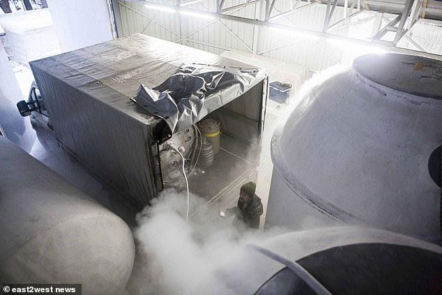 Bộ não của thiên tài khoa học Nga được bảo quản ở điều kiện nhiệt độ âm 196 độ C.