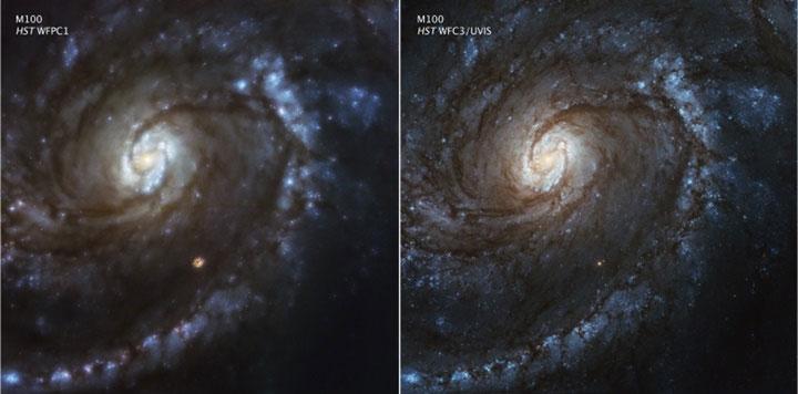 Kính thiên văn đã được phóng trở lại vào đầu năm 1990 nhưng khả năng chụp ảnh của nó không mấy ấn tượng.
