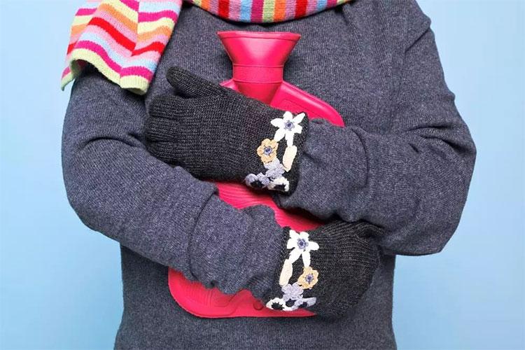 5 bộ phận cơ thể cần được giữ ấm vào mùa lạnh