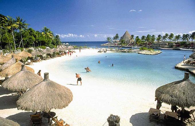 Đường bờ biển của Riviera Maya