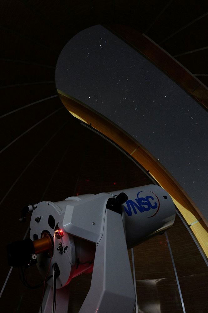 Đài thiên văn Hà Nội hơn 60 tỷ đồng ở Hà Nội có gì lạ?