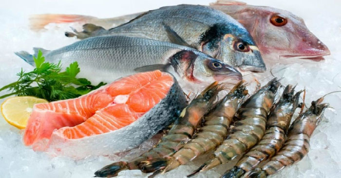 Các thực phẩm từ hải sản giúp cơ thể tự tiêu bớt mỡ, phòng chống béo phì.