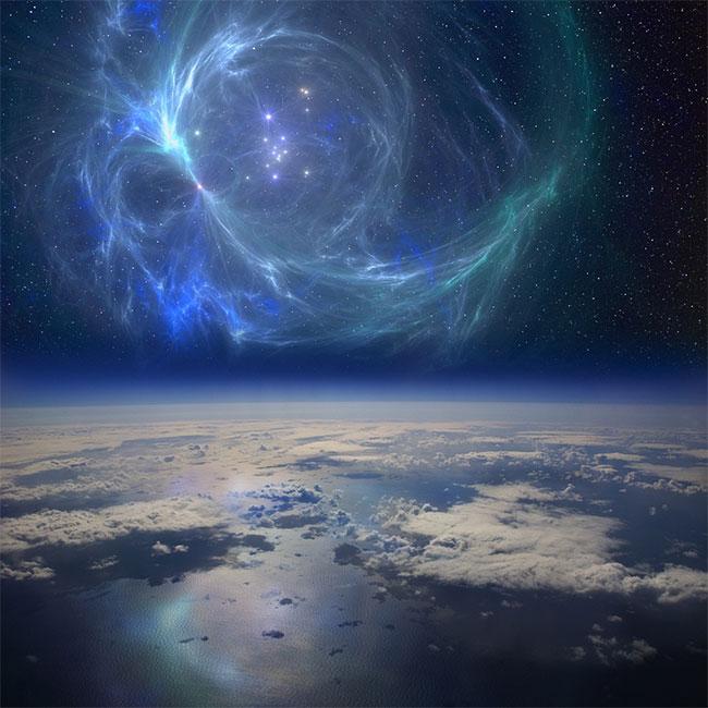 """Ngôi sao phát nổ thành siêu tân tinh đã tung """"mưa"""" phóng xạ xuống Trái đất"""