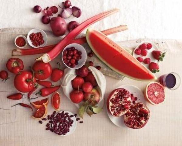 Những thực phẩm có màu đỏ rất giàu năng lượng, giúp bạn sưởi ấm trong mùa đông.