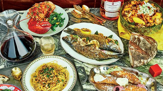 Tiệc 7 món cá